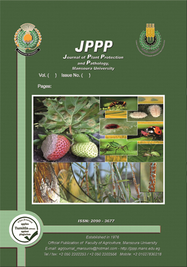 Journal of Plant Protection and Pathology